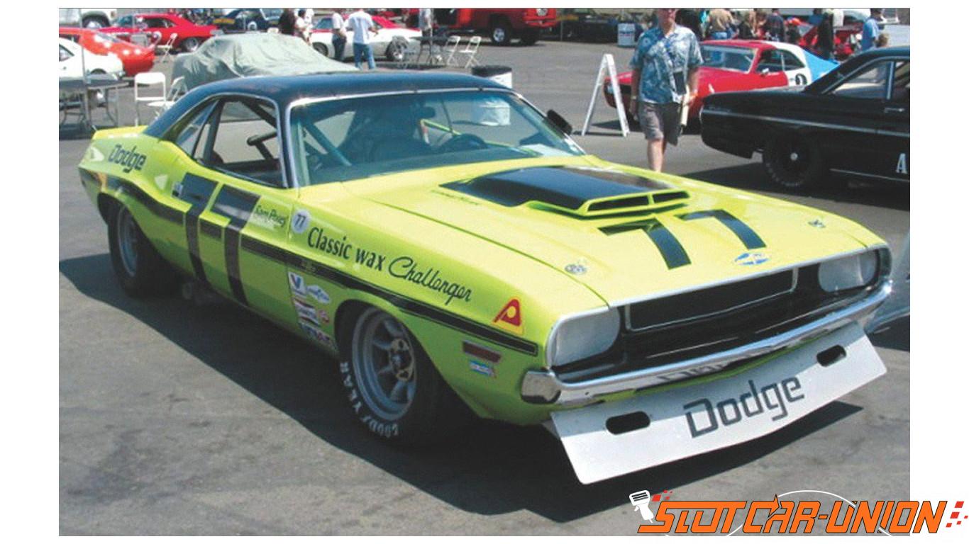 Dodge challenger slot car