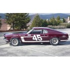 Ford Mustang 1969 Boss 302, Reventlow Pettey Racing
