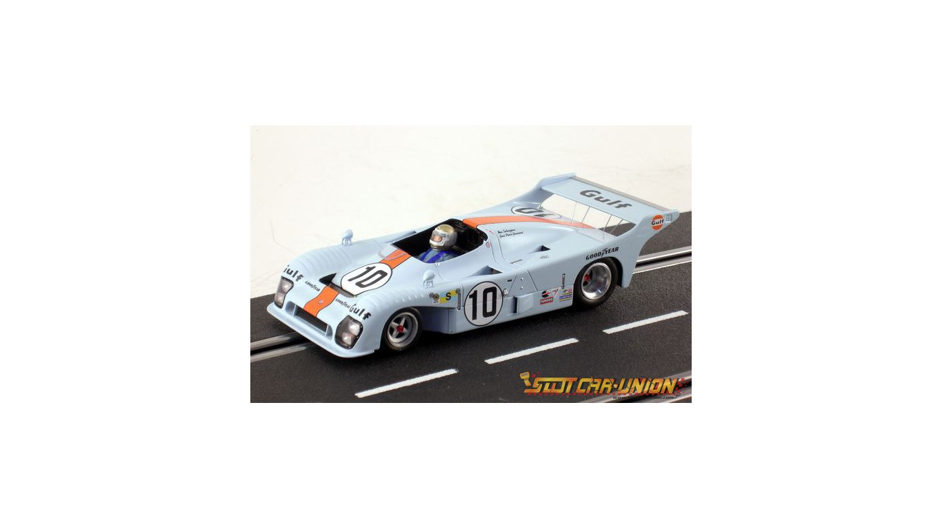 le mans miniatures mirage gr 8 n 10 24 heures du mans 1975 slot car union. Black Bedroom Furniture Sets. Home Design Ideas