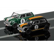 Scalextric C3586A Touring Car Legends 1964 ATCC Mini Coopers