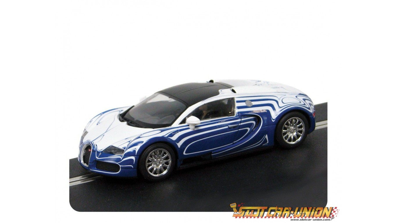 scalextric c3394 bugatti veyron l 39 or blanc slot car union. Black Bedroom Furniture Sets. Home Design Ideas