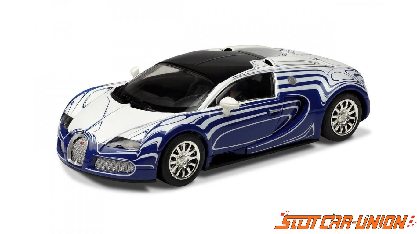 scalextric c3394 bugatti veyron l 39 or blanc slot car union. Black Bedroom Furniture Sets. Home Design Ideas