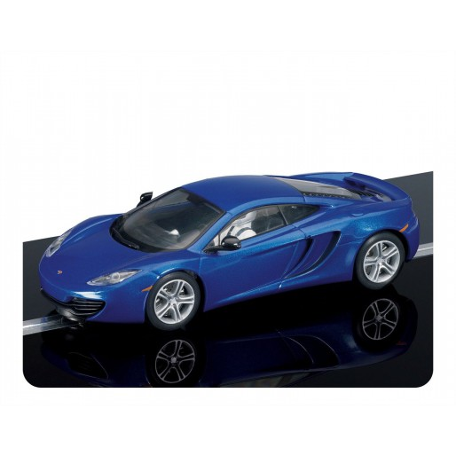 scalextric c3297 mclaren mp4-12c blue - slot car-union