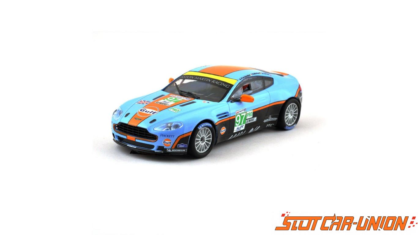 Scx Aston Martin V8 Vantage Gt2 Gulf A10116x300 Slot Car Union