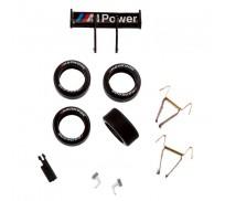Carrera GO!!! 88309 Pièces de Rechange pour BMW M3 DTM, M.Tomczyk No.1