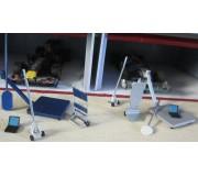 Slot Track Scenics Acc.13 Modern Pit Tools