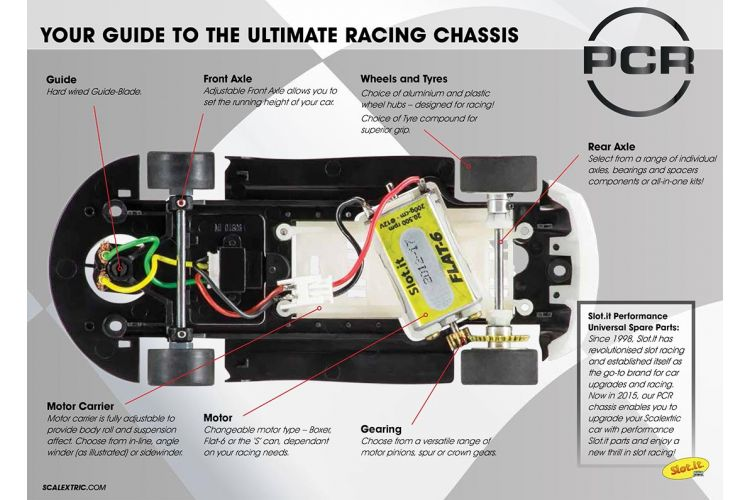 Scalextric C8536 Pro Chis Ready (PCR) Underpan - BMW Z4 ... on