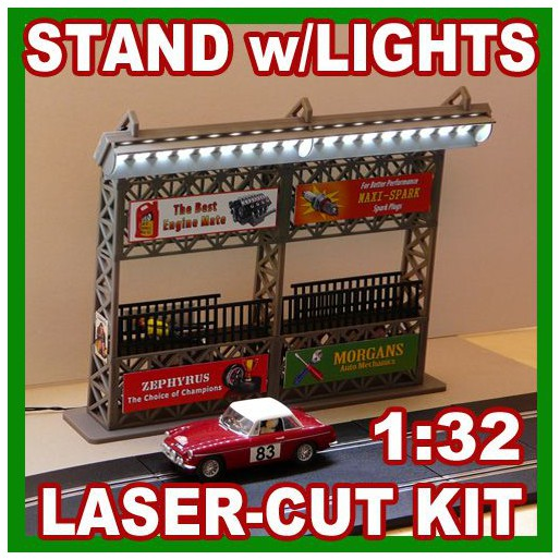 Proses LS-313 Stand w/Light (Kit, laser-cut acrylic)
