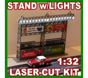 Proses LS-313 Stand w/Light (Kit, laser-cut acrylic)