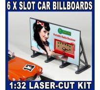 Proses LS-304 Retro Type Outdoor Billboards x6