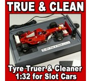 Proses TC-401 Correcteur & Nettoyeur de Pneus pour Slot Cars 1:32 avec Adaptateur 220V