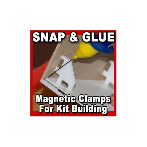 Proses PR-SS-02 Snap & Glue Magnetic Clamps x2
