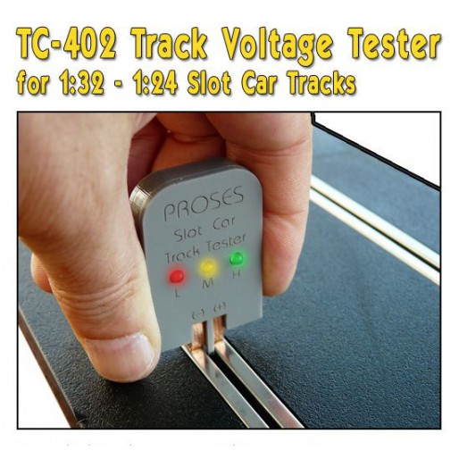 Proses TC-402 Slot Car Track Tester