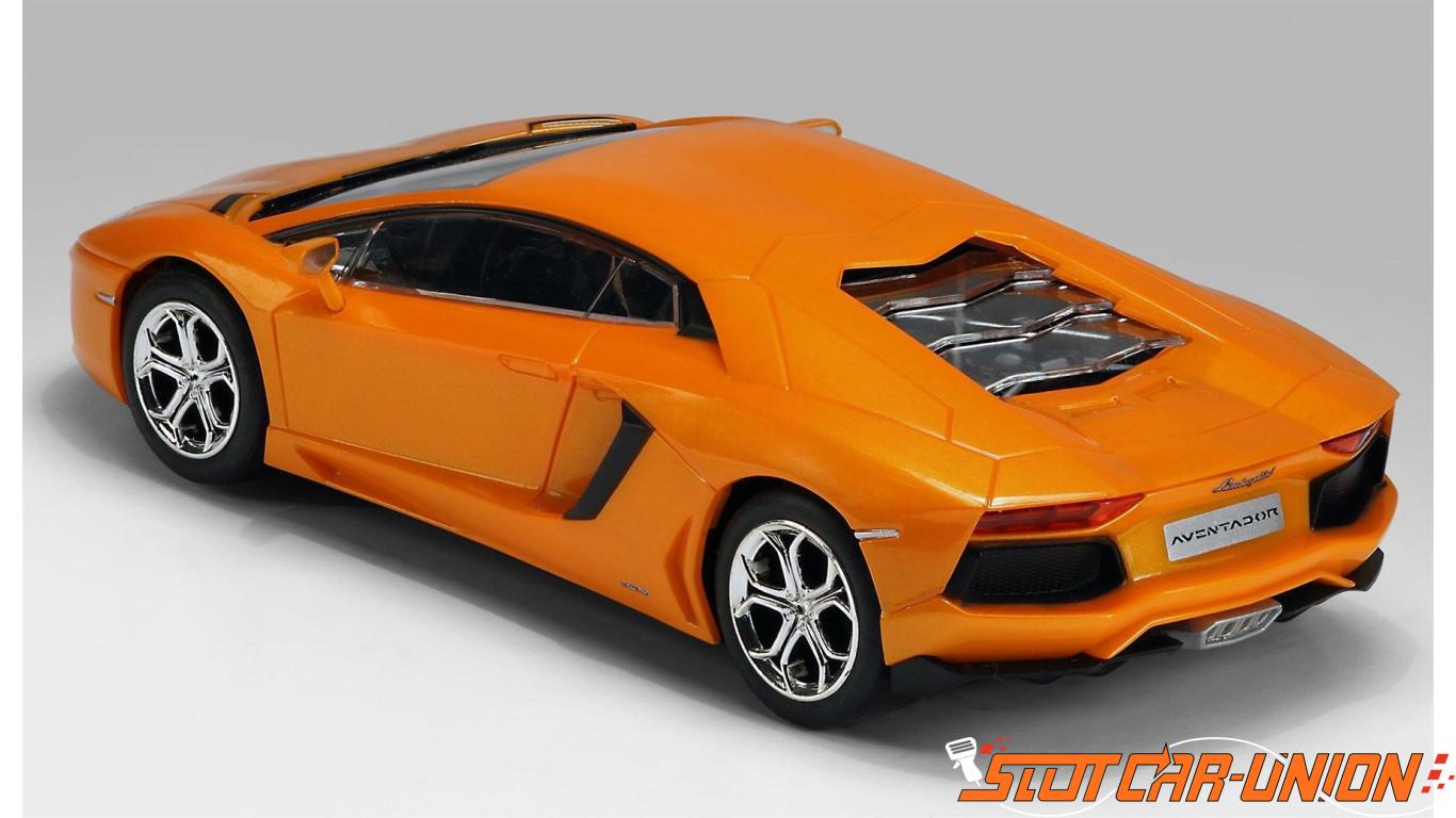 Scalextric C3460 Lamborghini Aventador Lp 700 4 Orange