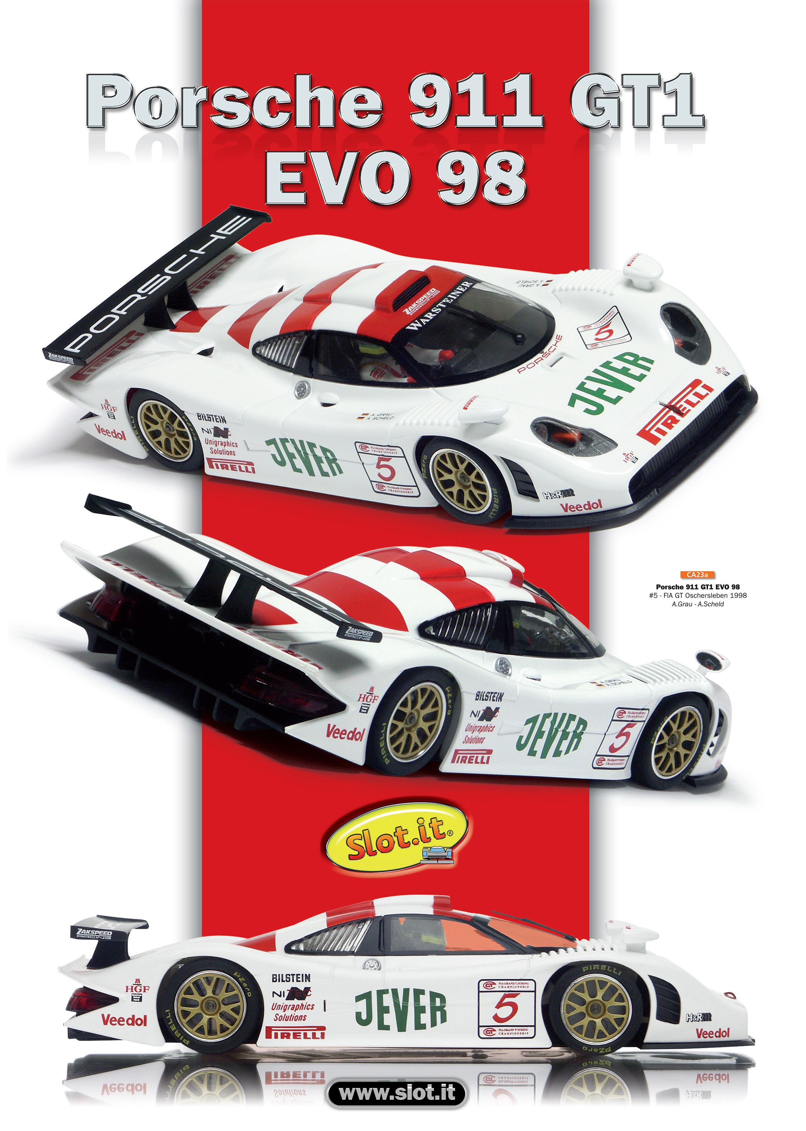 Porsche%20911%20CA23 Fascinating Porsche 911 Gt1 Evo 98 Slot It Cars Trend