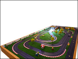 AFX Super Mario Kart by Slot Car-Union