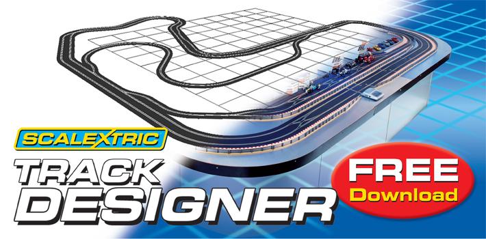 Scalextric Track Designer Slot Car Union