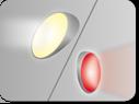 Headlights and brake light