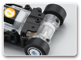 Floating power unit & Spring for smoother driving performance