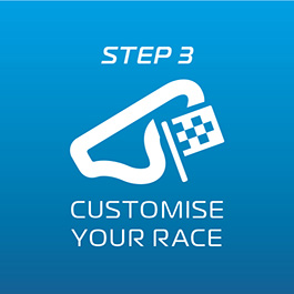 Customise your Race