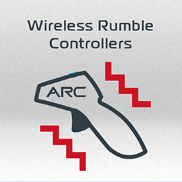 Wireless Rumble Controllers
