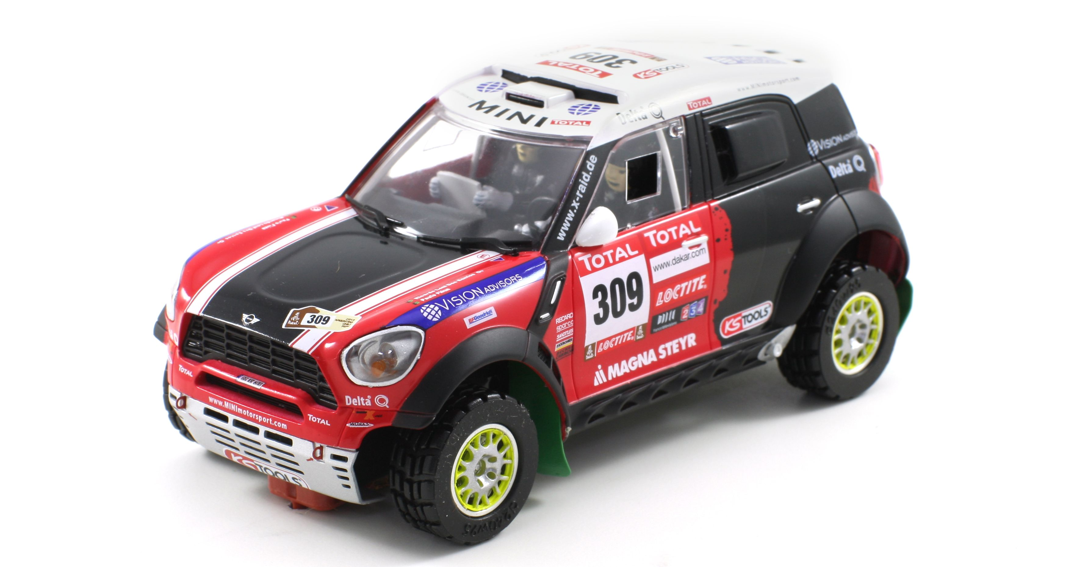 Scaleauto SC-6111 MINI All4 Racing Rally Dakar 2012 n.309