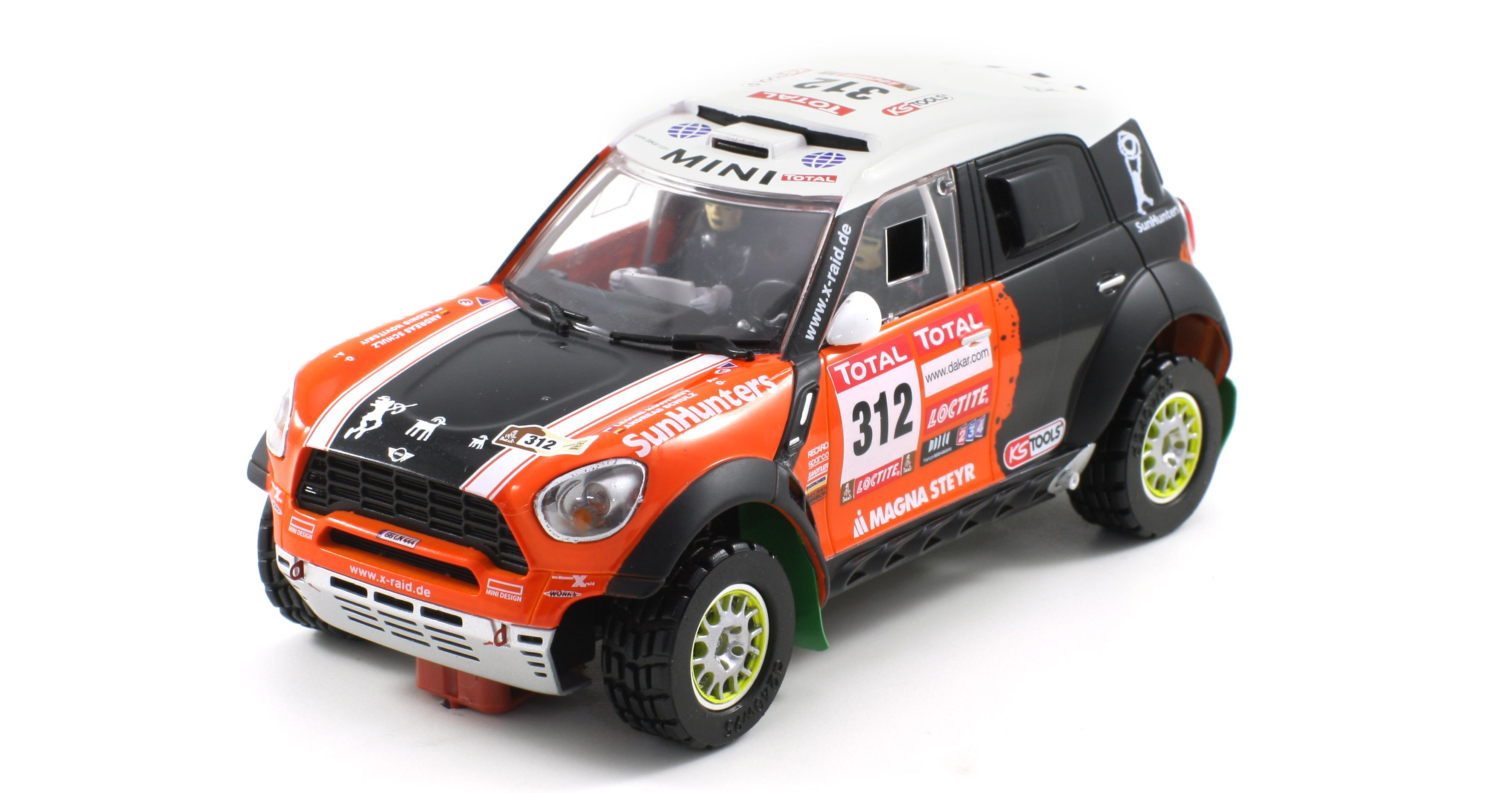 Scaleauto SC-6112 MINI All4 Racing Rally Dakar 2012 n.312
