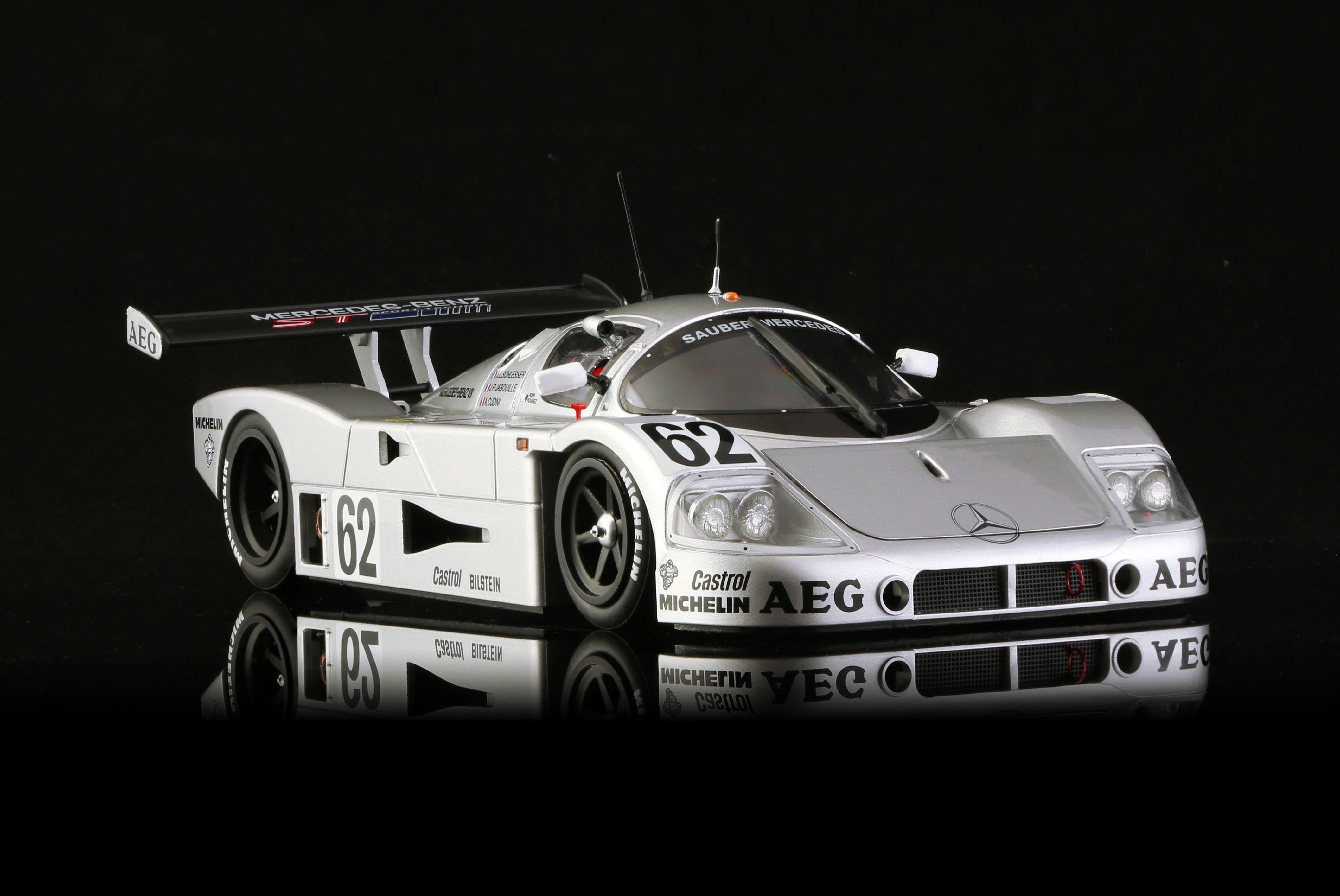 BRM Sauber C9 - Team Sauber Mercedes no.62 - 5th classified 24 H Le Mans 1989
