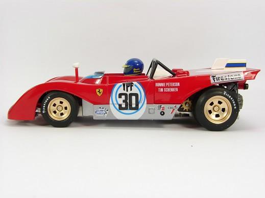 Tim Schenken SRC 03101 Ferrari 312 PB 1000km Buenos Aires 72 Ronnie Peterson