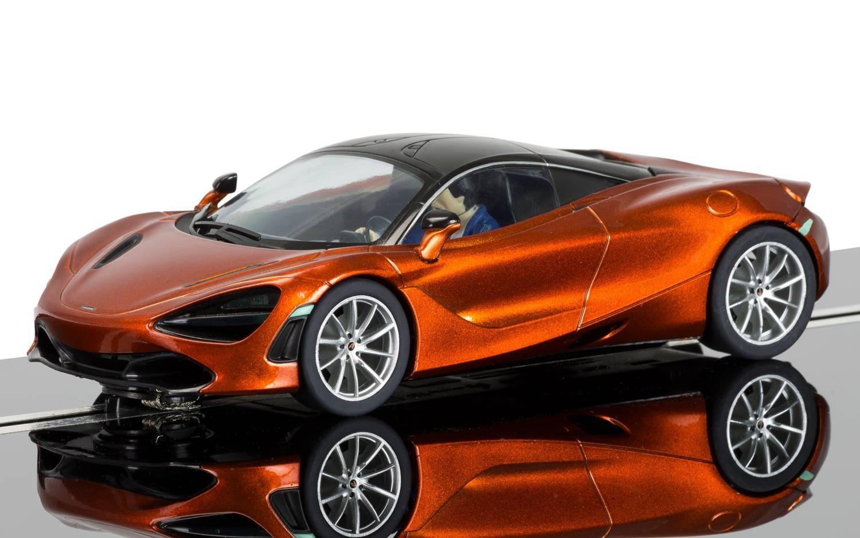 Scalextric C3895 Mclaren 720s - Orange des Açores