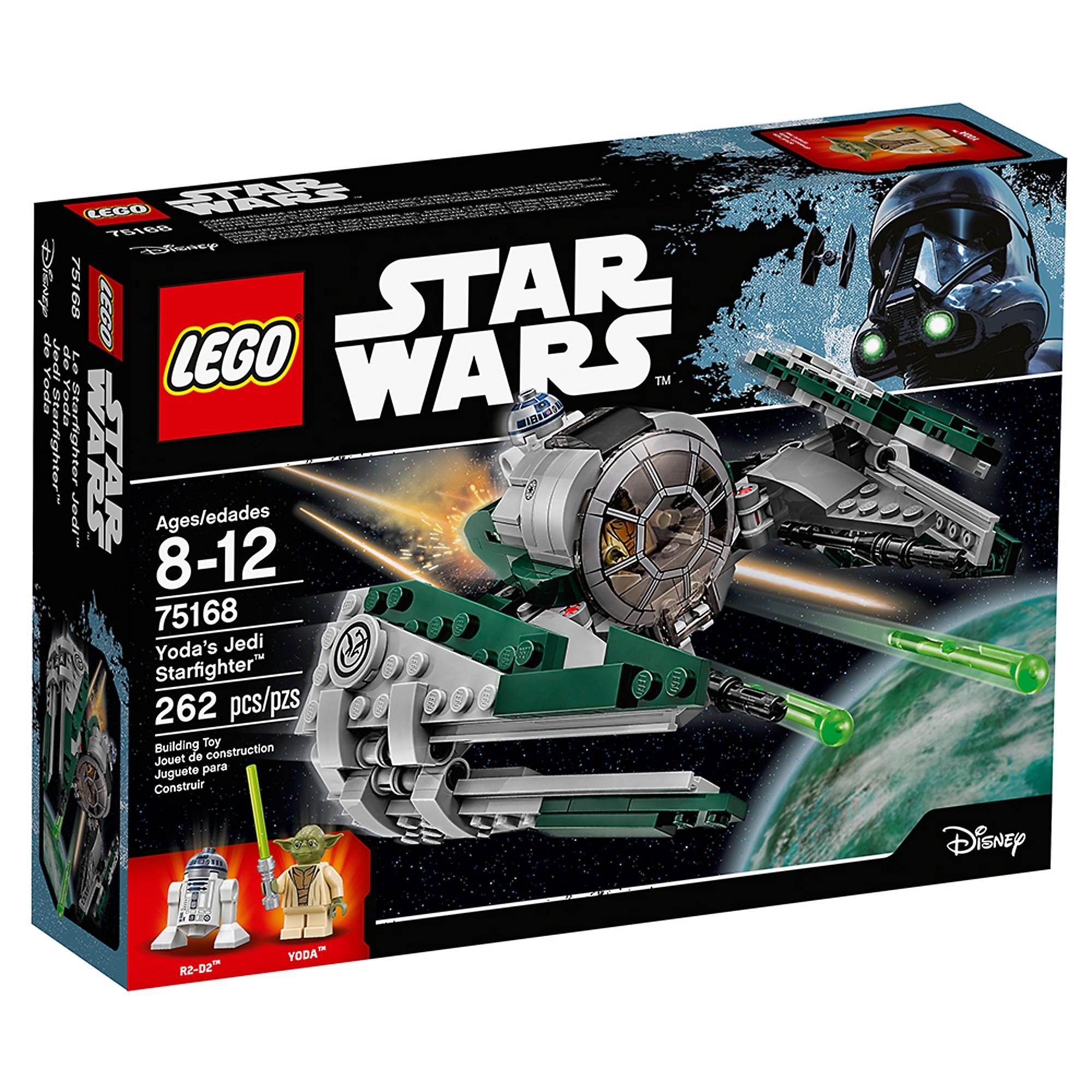 Lego 75168 Yodas Jedi Starfighter Nsapaz7929 Lego Complete Sets