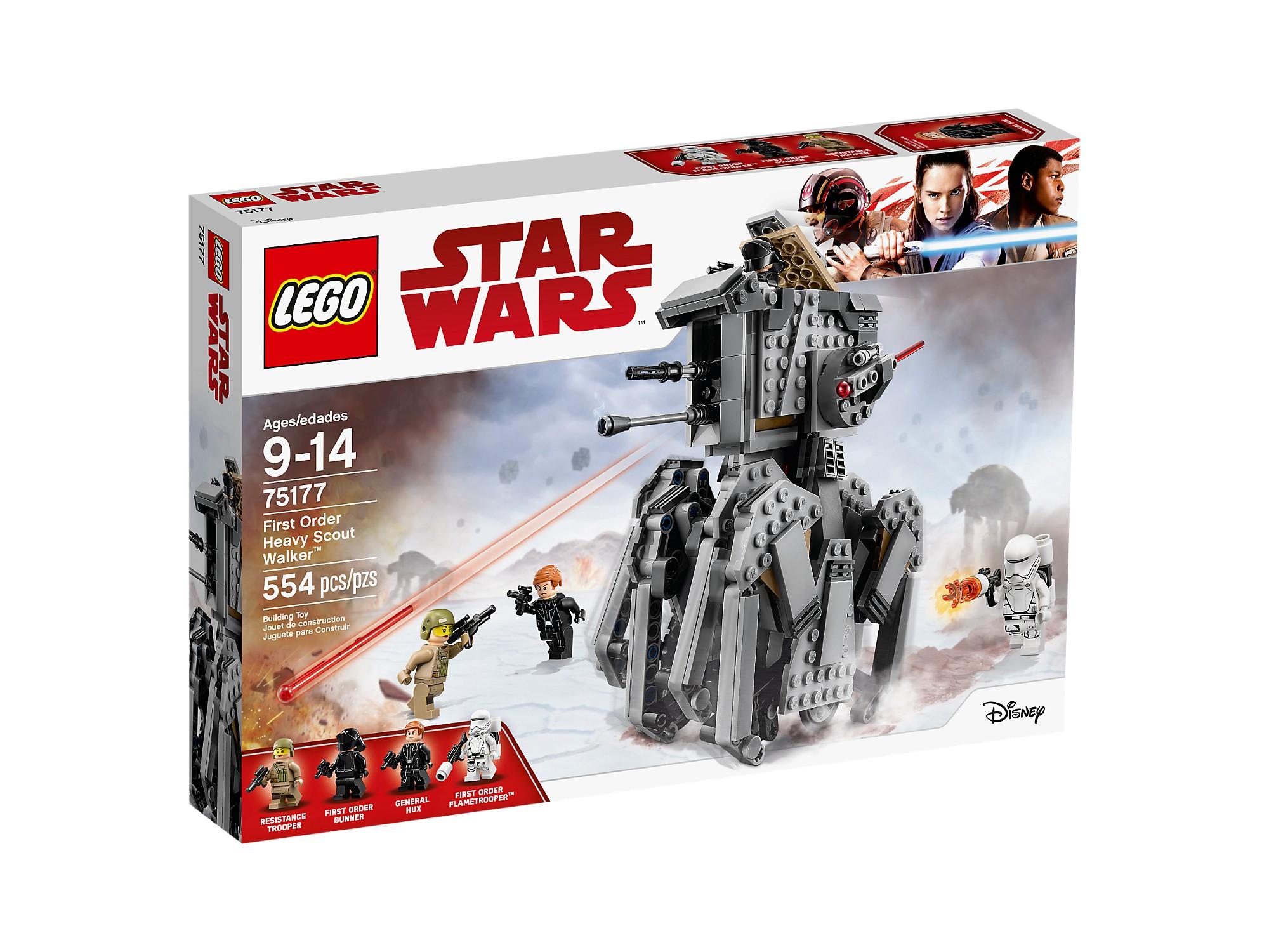 LEGO 75177 primero Order  Heavy Scout Walker™  autentico online