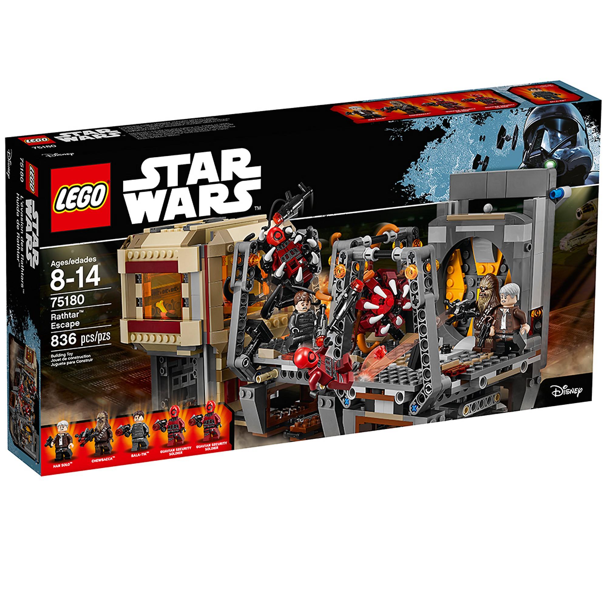 LEGO 75180 L'évasion des  Rathtar™  edizione limitata