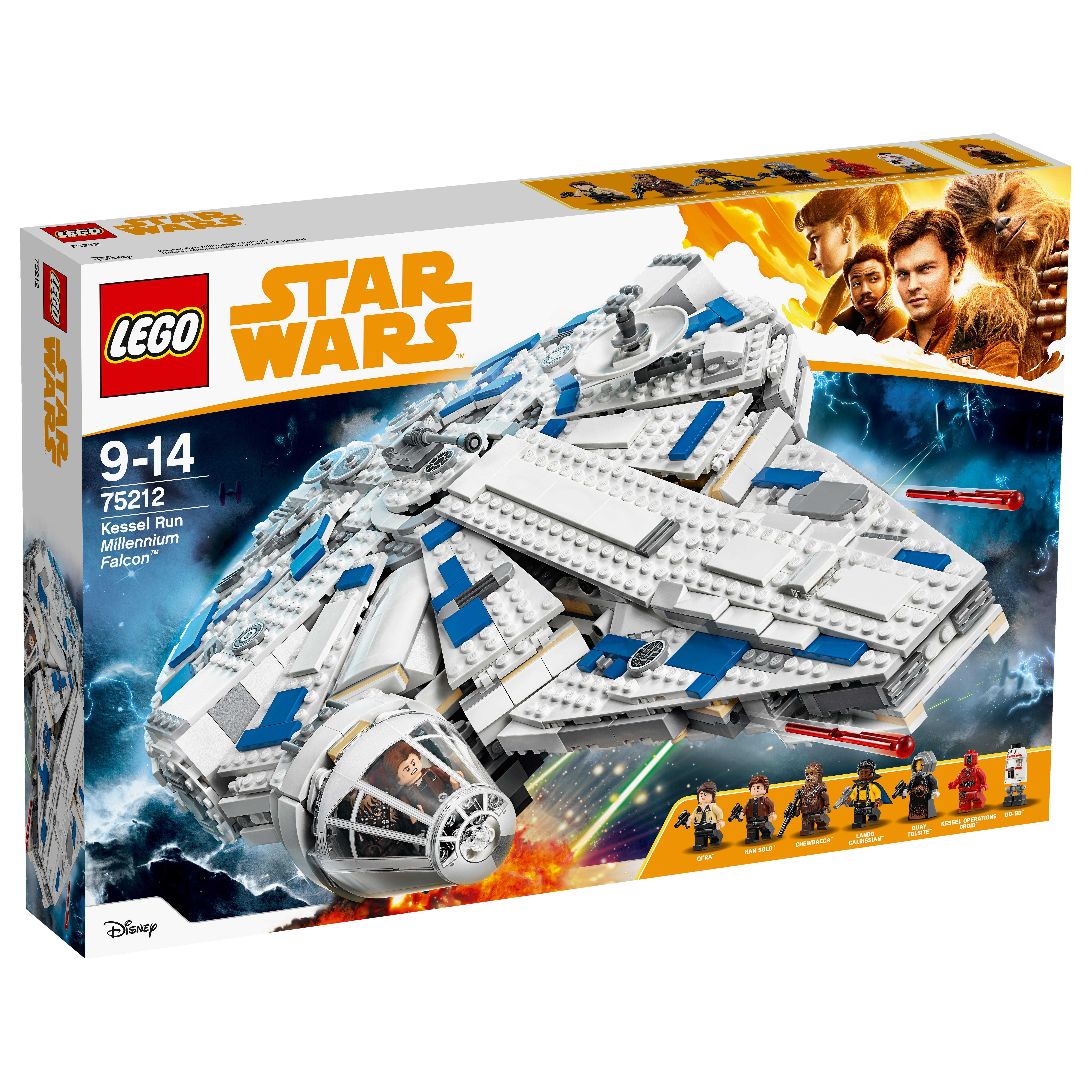 LEGO 75212 Le Faucon Millenium du raid de Kessel