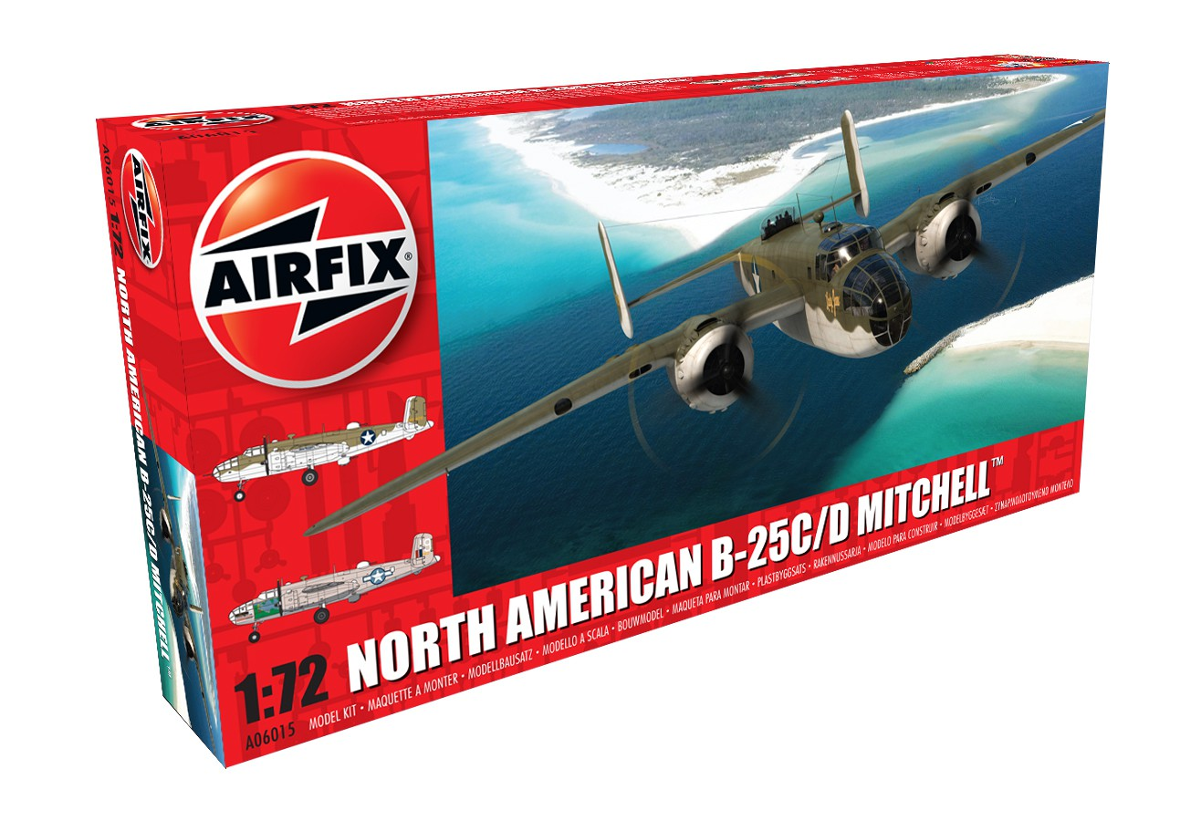 Airfix North American B-25C D Mitchell 1 72