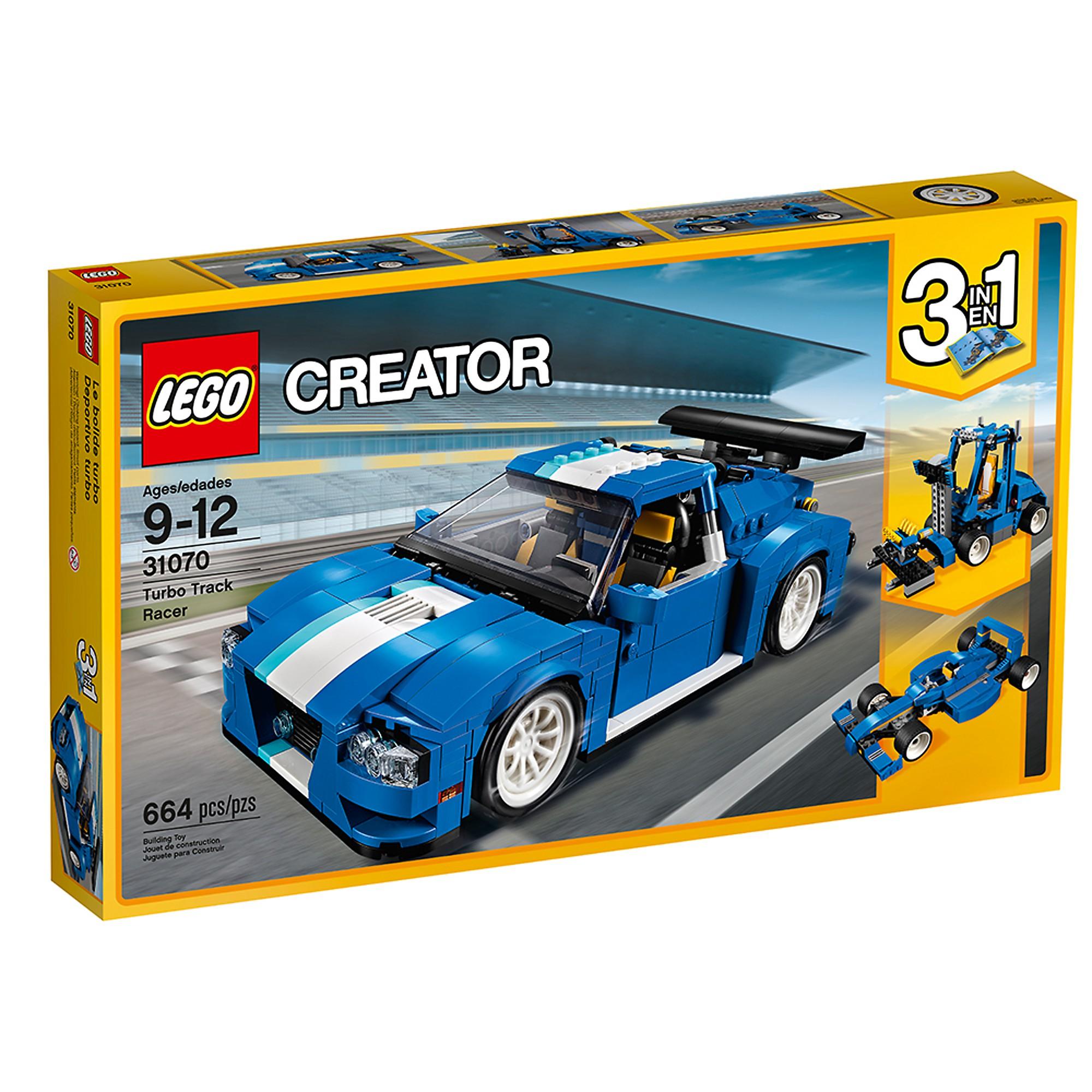 LEGO 31070 Le bolide Blau