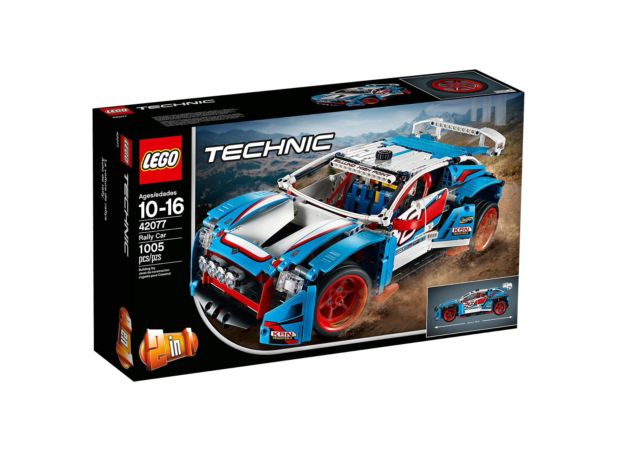 LEGO 42077 La voiture de rallye