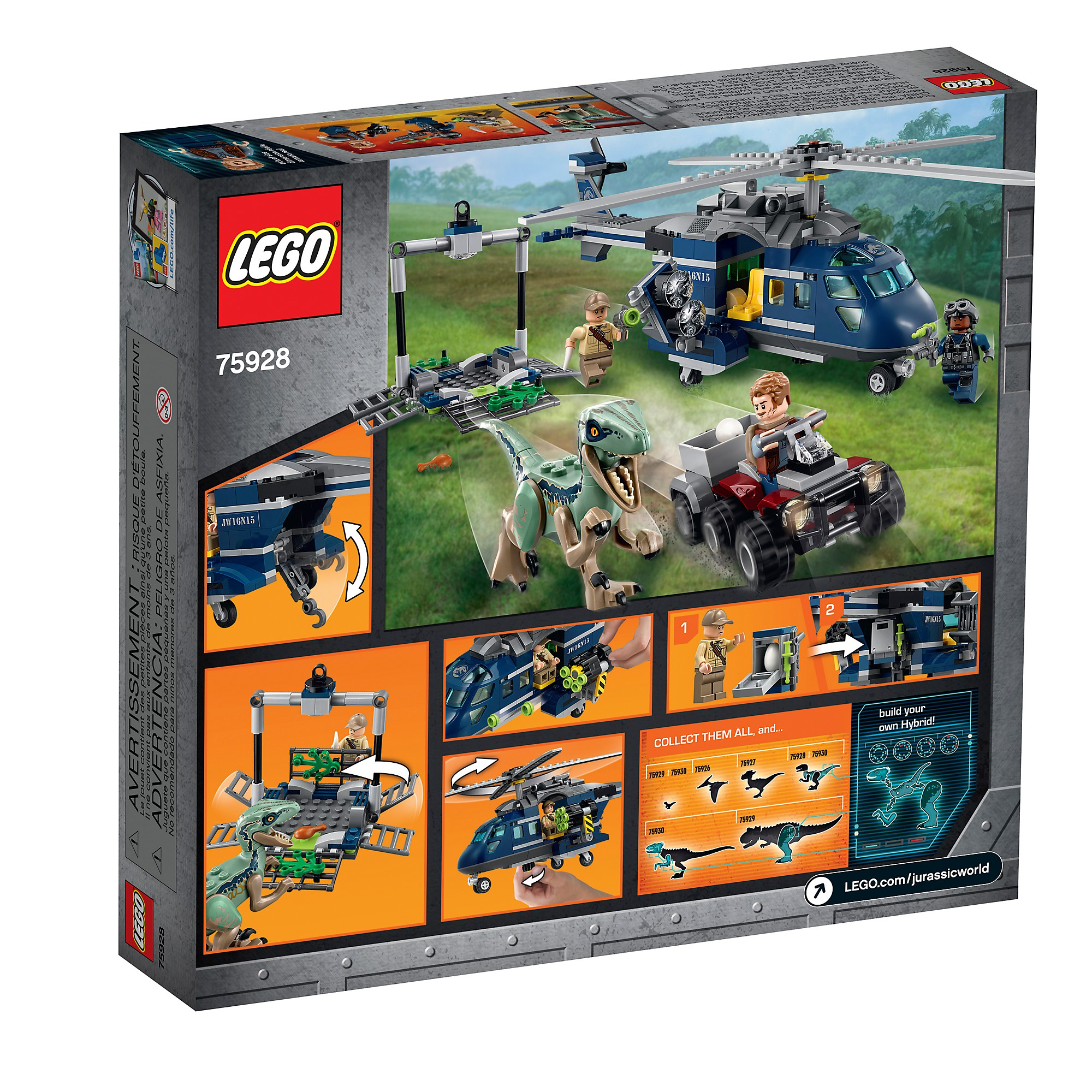 LEGO LEGO LEGO 75928 La poursuite en hélicoptère de Blau 6d118d