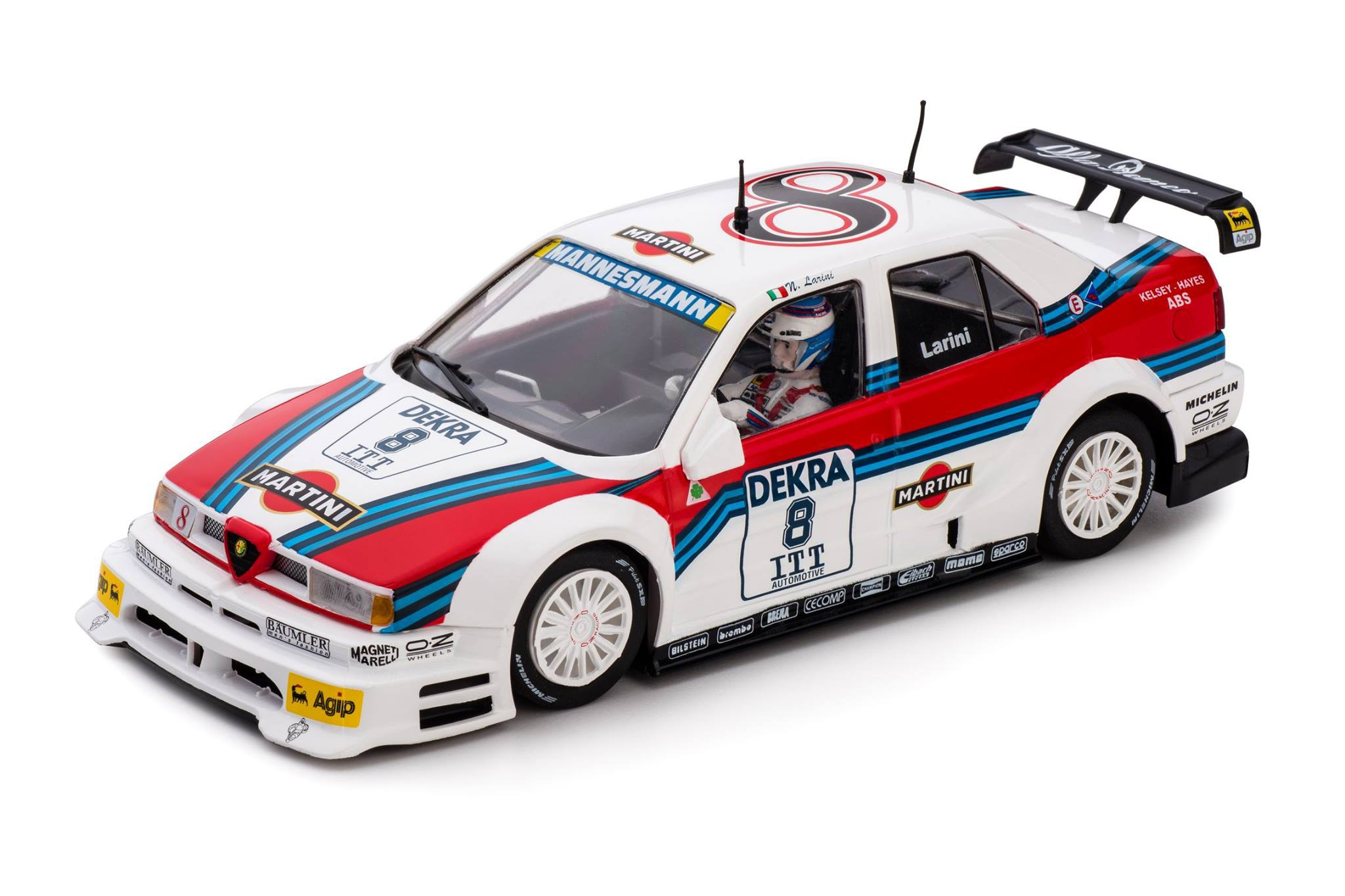 Slot  CA40a Alfa Romeo 155 V6TI n.8 Avus Ring - DTM ITC 1995