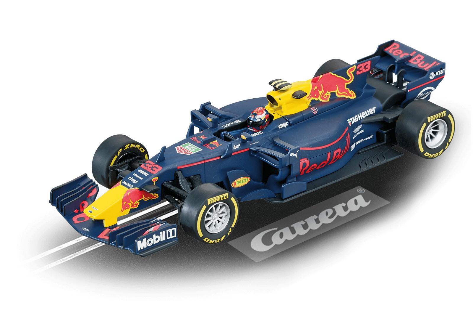 Carrera DIGITAL 132 30818 rojo Bull Racing TAG Heuer RB13  M.Verstappen, No.33