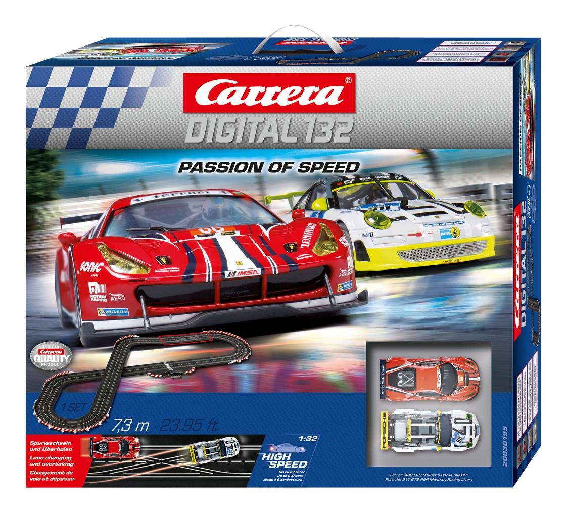 Carrera Digital 132 30195 Coffret Passion Of Speed