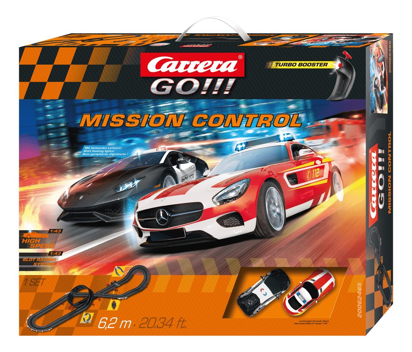 Carrera GO    62465 Coffret Mission Control