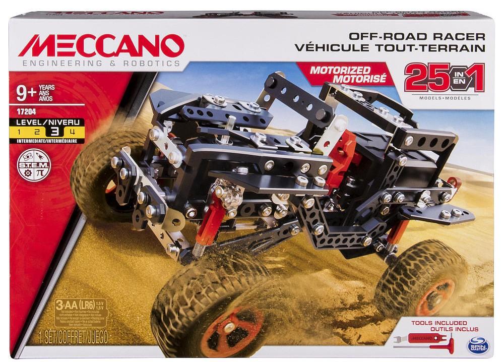 Forte Meccano 17204 Tout-terrain Motorisé 25 Modèles Il Massimo Della Convenienza