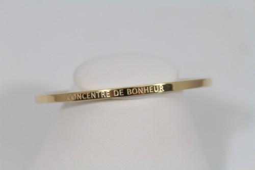 Bracelet acier message MERVEILLEUSE DE MERE EN FILLE Lolo /& Yaya
