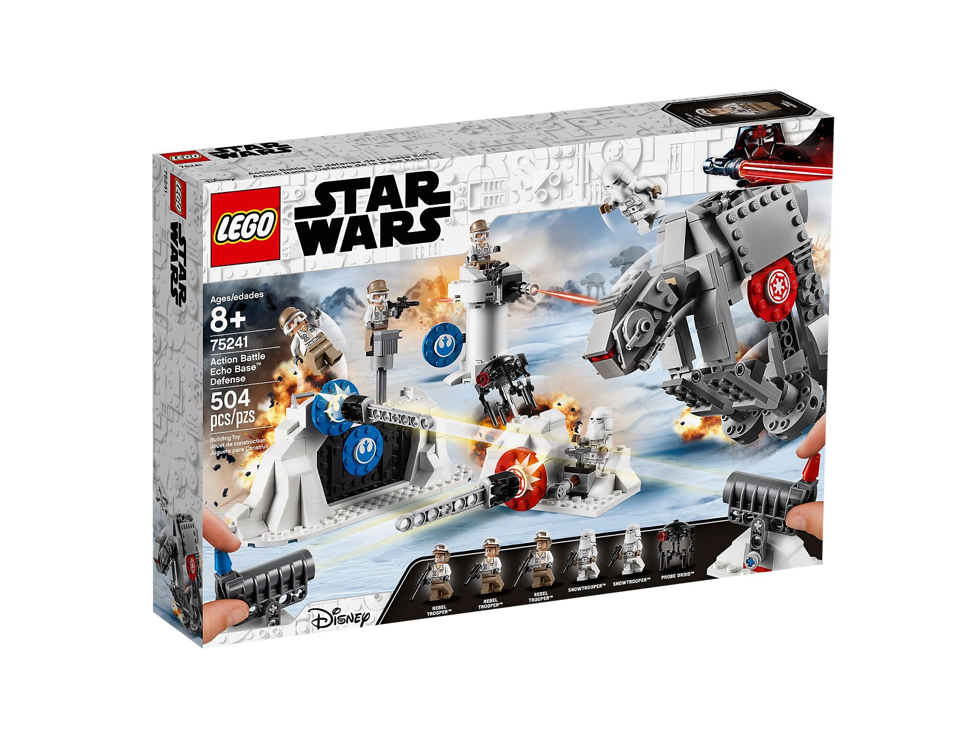 risparmia fino al 30-50% di sconto LEGO 75241 azione Battle La défense de la base Echo™ Echo™ Echo™  risposta prima volta