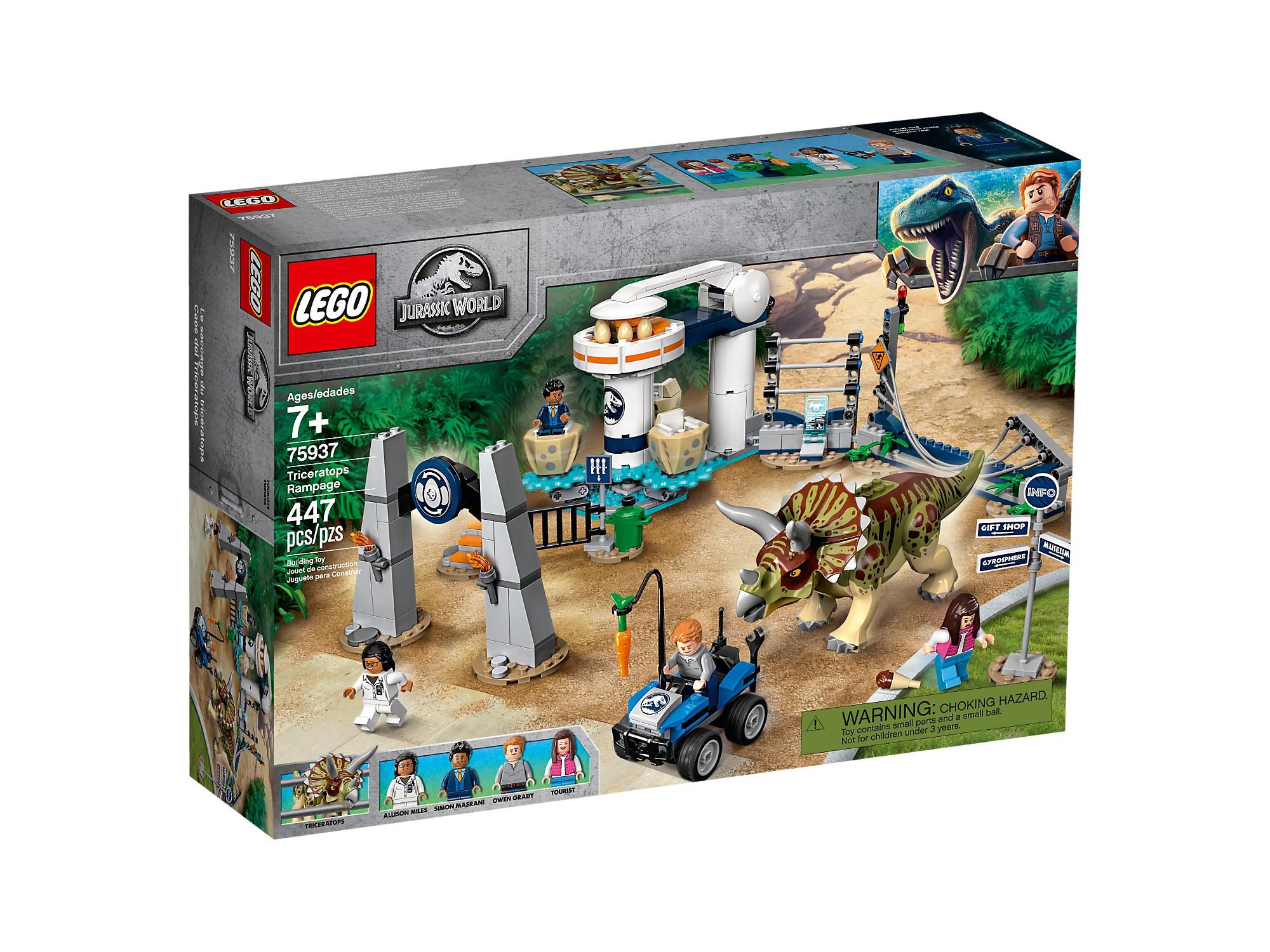 LEGO 75937 La fureur du Tricératops