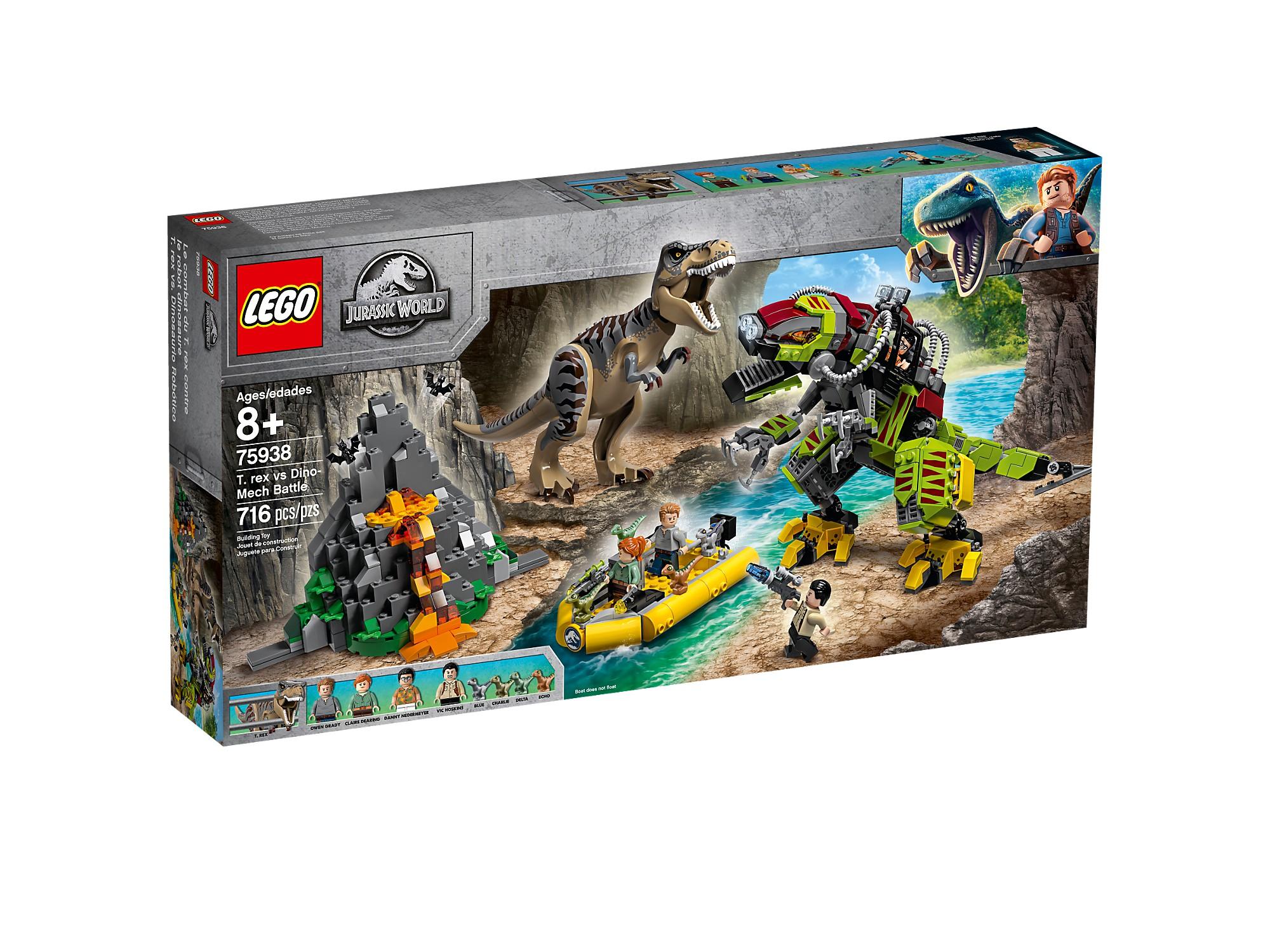 LEGO 75938 La bataille du T. rex contre le  Dino-Mech  économiser jusqu'à 50%