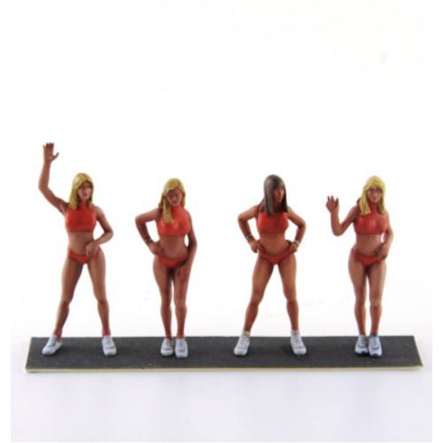 LE MANS miniatures Coffret de 4 figurines à peindre