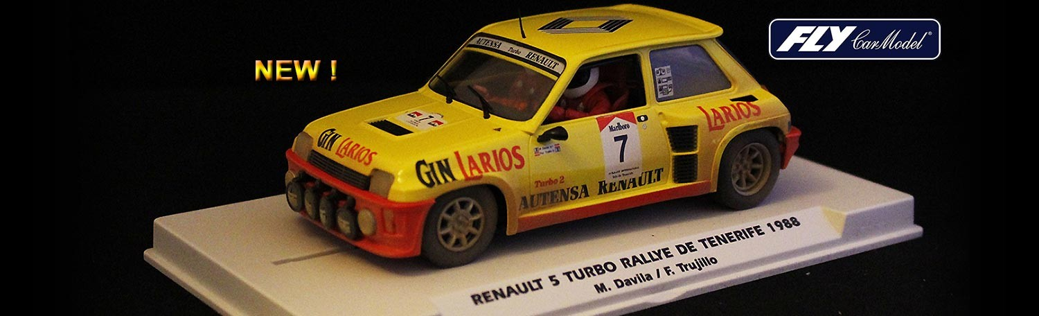 FLY E2005 Renault 5 Turbo Rally de Tenerife 1988