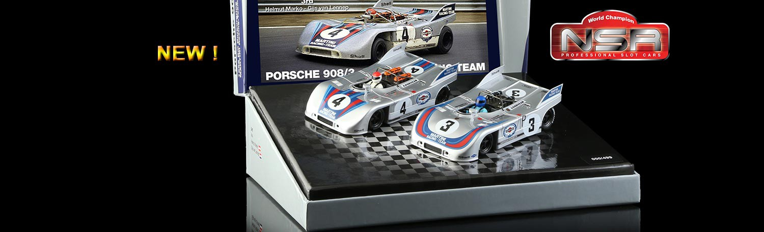 NSR SET10 Porsche 908/3 - MARTINI RACING